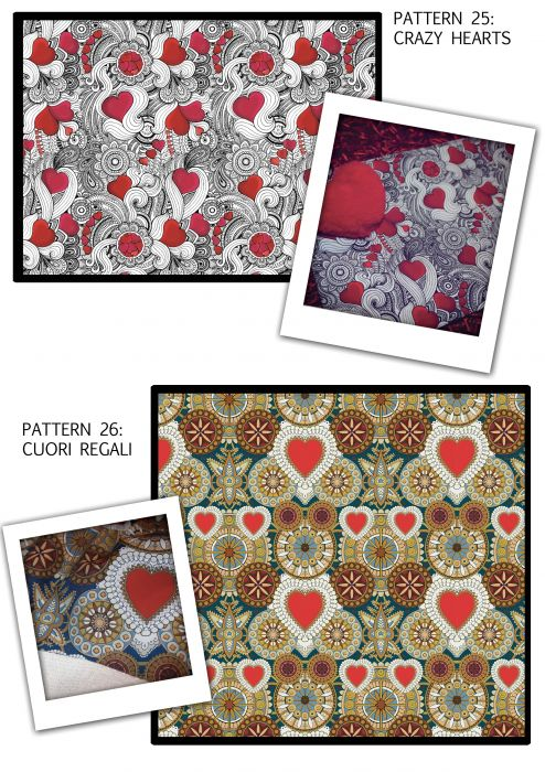 Pattern 25-Crazy Hearts 26-Cuori Regali